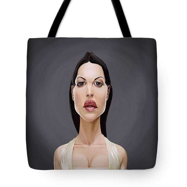 Celebrity Sunday - Monica Bellucci Tote Bag