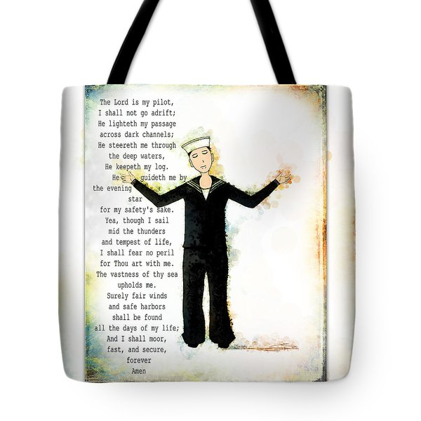 Sailor's Prayer Tote Bag
