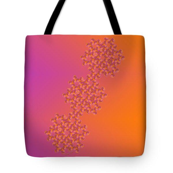 Hot Hexa Tote Bag