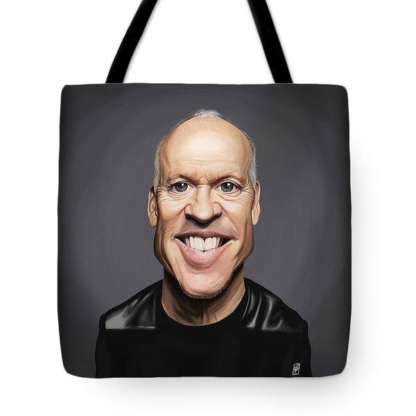 Celebrity Sunday - Michael Keaton Tote Bag