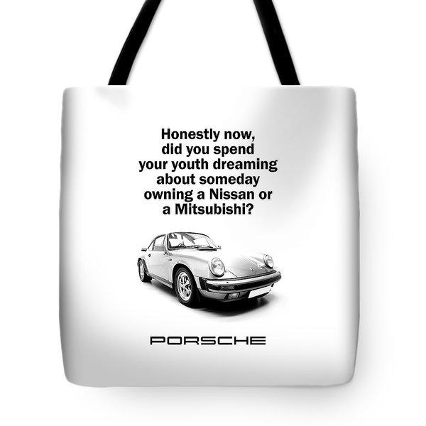 Dreaming Of A Porsche Tote Bag