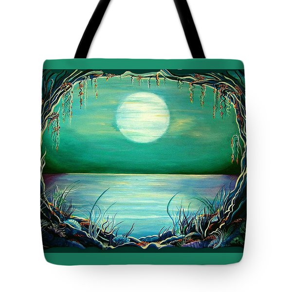 Turquoise Taunt Tote Bag