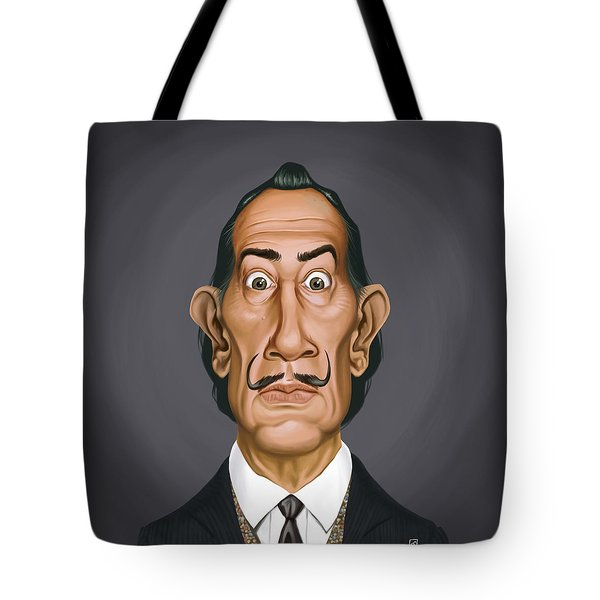 Celebrity Sunday - Salvador Dali Tote Bag