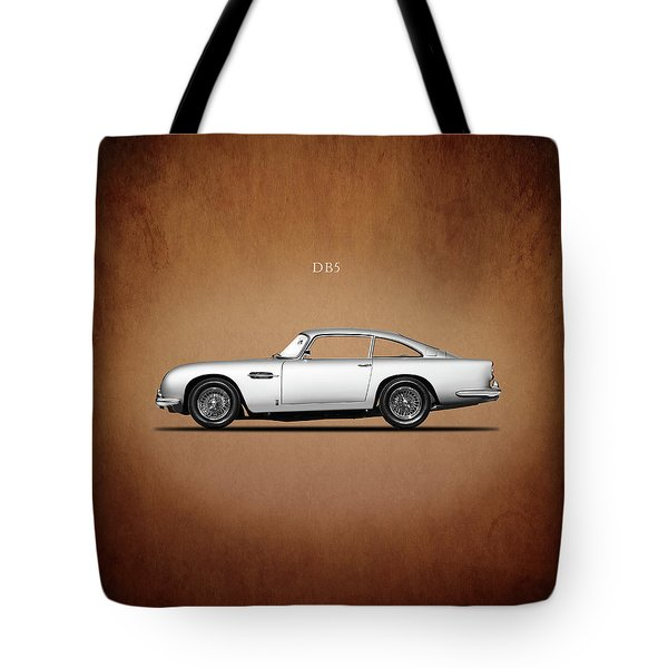 The Aston Martin Db5 Tote Bag