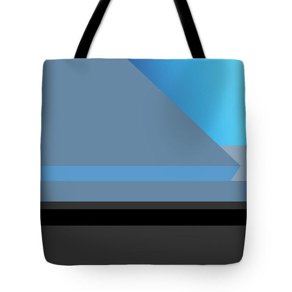 Symphony In Blue - Movement 1 - 2 Tote Bag