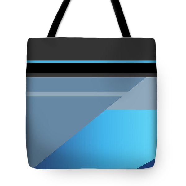 Symphony In Blue - Movement 1 - 3 Tote Bag