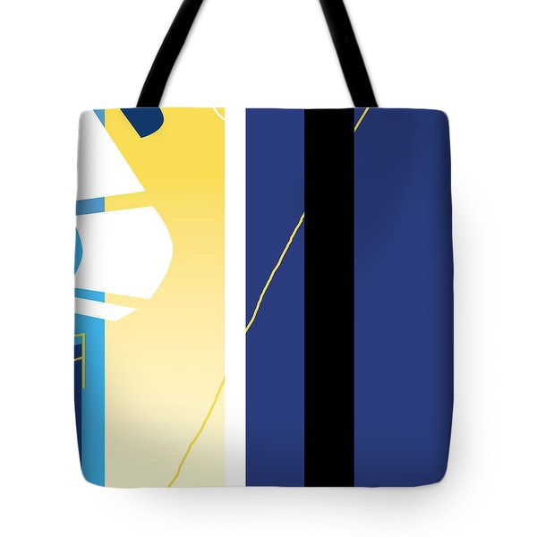 Symphony In Blue - Movement 2 - 1 Tote Bag