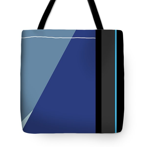 Symphony In Blue - Movement 3 - 3 Tote Bag