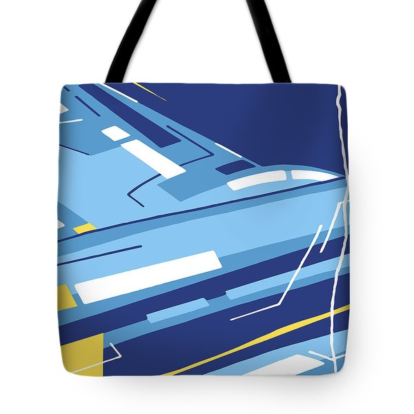 Symphony In Blue - Movement 4 - 1 Tote Bag