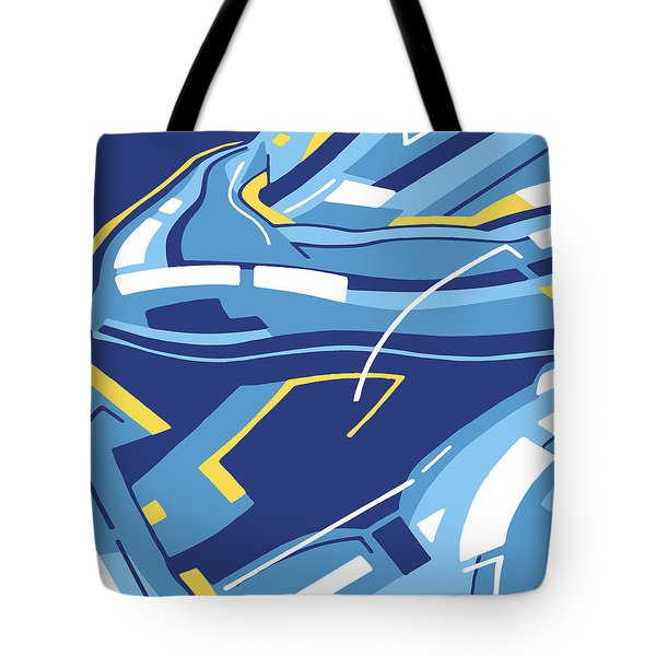 Symphony In Blue - Movement 4 - 3 Tote Bag