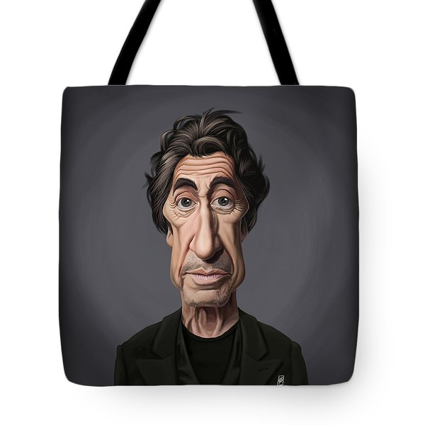 Celebrity Sunday - Al Pacino Tote Bag