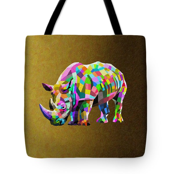 Wild Rainbow Tote Bag