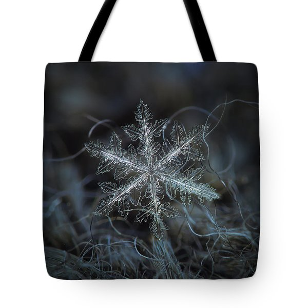 Leaves Of Ice Tote Bag