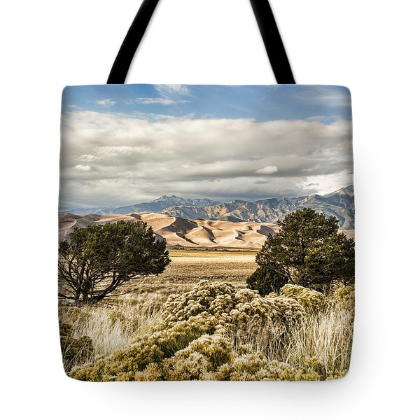 Great Sand Dunes National Park And Preserve Tote Bag