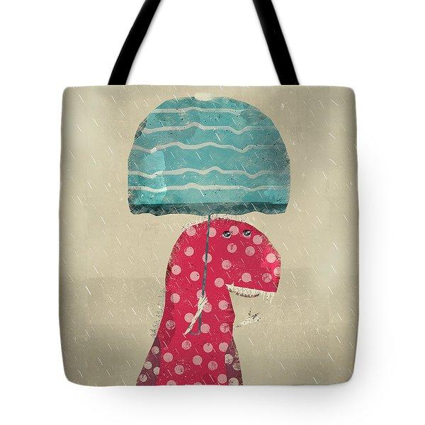 Its Raining Again Tote Bag