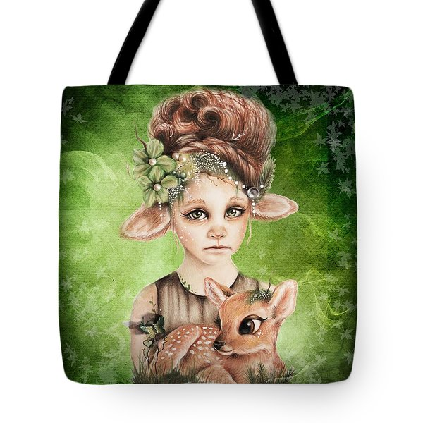 Faline - Only Friend In The World Collection Tote Bag by Sheena Pike