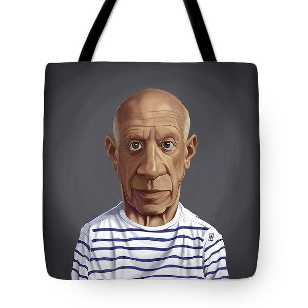 Celebrity Sunday - Pablo Picasso Tote Bag
