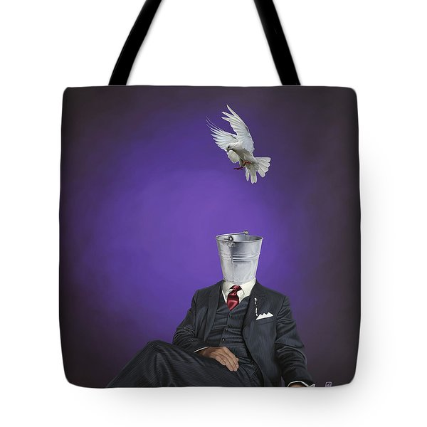 Tote Bag featuring the drawing Capture by Rob Snow