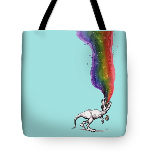 Rex Tote Bag by Kelly Jade King