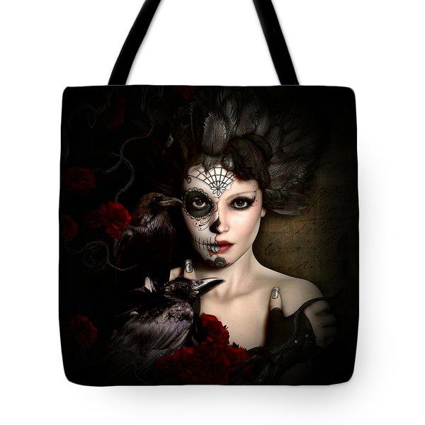 Darkside Sugar Doll Tote Bag