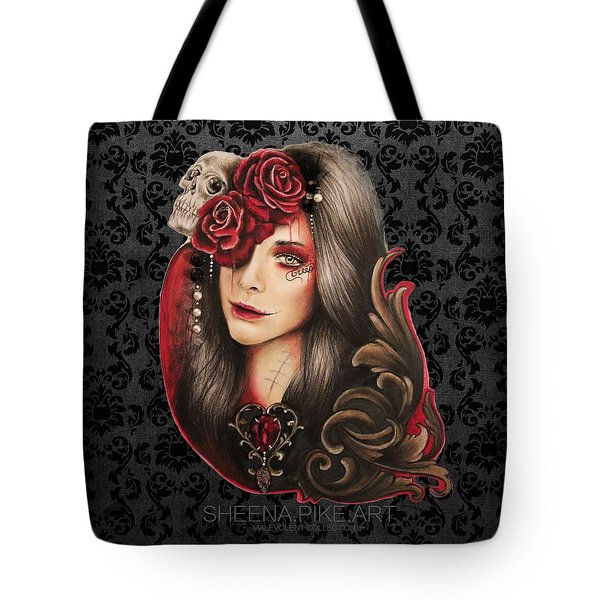 Creep  Tote Bag by Sheena Pike