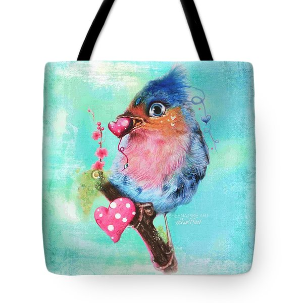 Love Bird Tote Bag by Sheena Pike