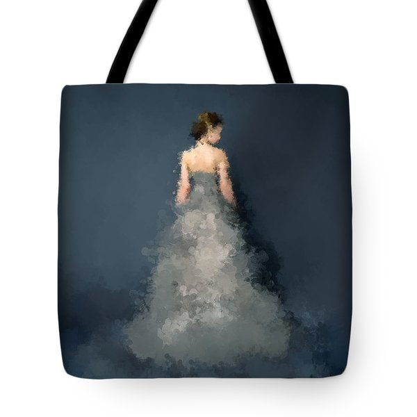 Tote Bag featuring the digital art Anna by Nancy Levan