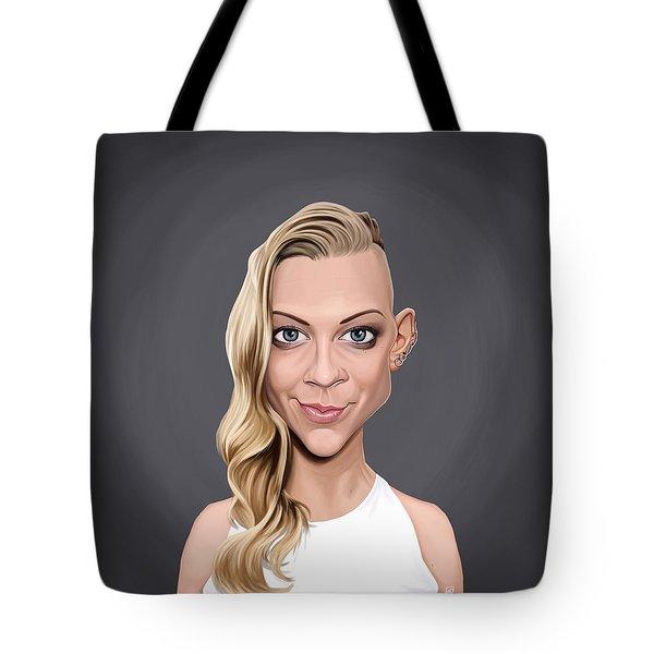 Celebrity Sunday - Natalie Dormer Tote Bag