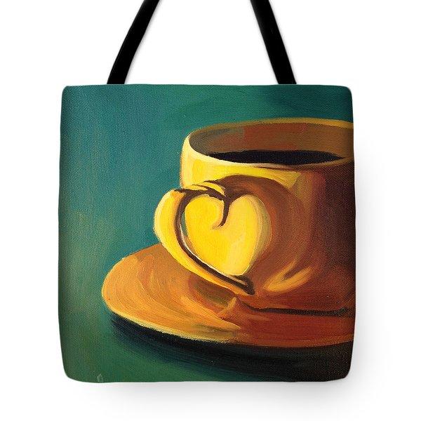 Yellow Java Tote Bag