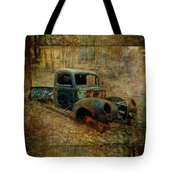 Resurrection Vintage Truck Tote Bag
