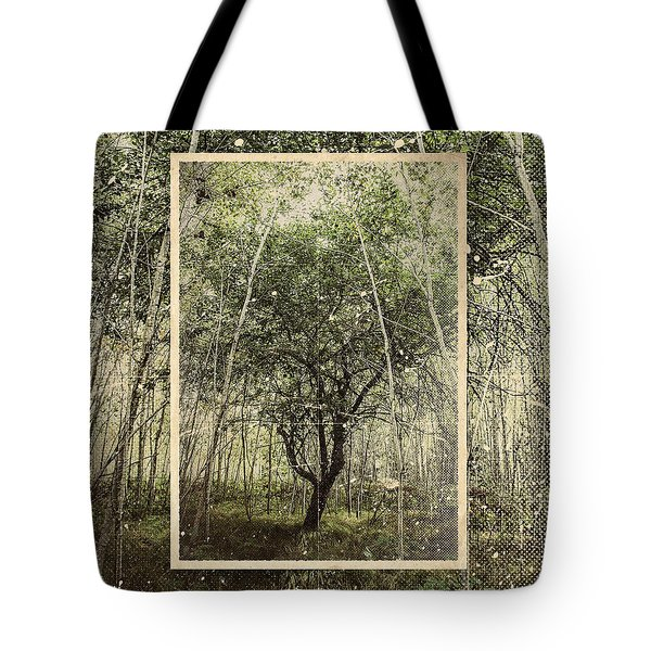 Hand Of God Apple Tree Poster Tote Bag