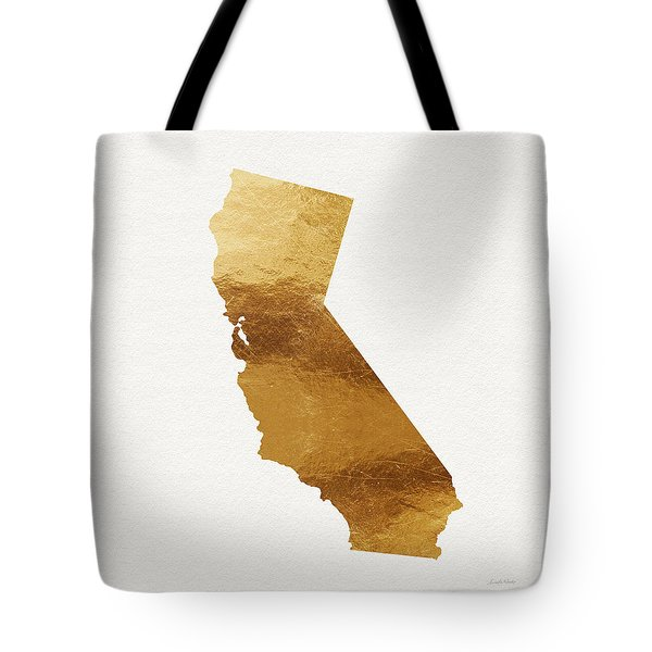 California Gold- Art By Linda Woods Tote Bag