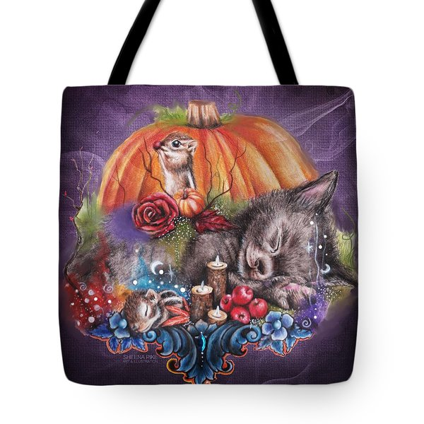 Dreaming Of Autumn Tote Bag by Sheena Pike
