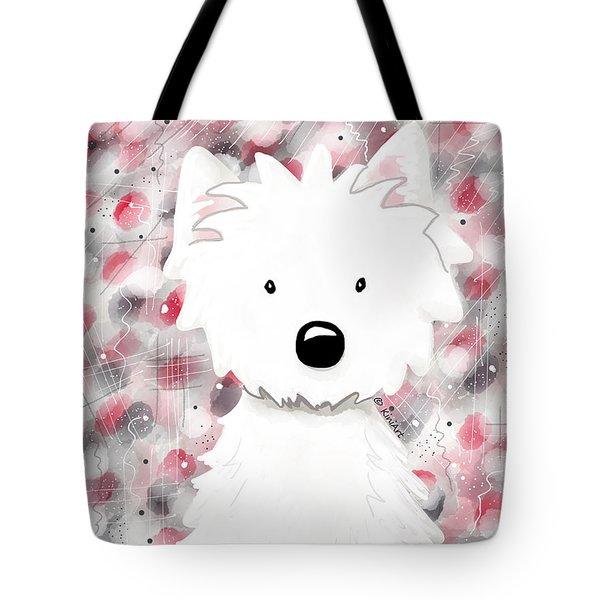 Westie Impressions II Tote Bag