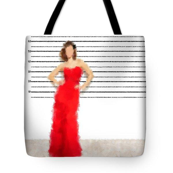 Tote Bag featuring the digital art Carmela by Nancy Levan