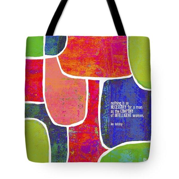 Intelligent Women Tote Bag