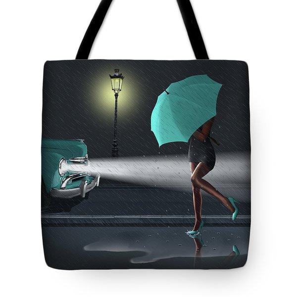 Rainy Day 2 Tote Bag