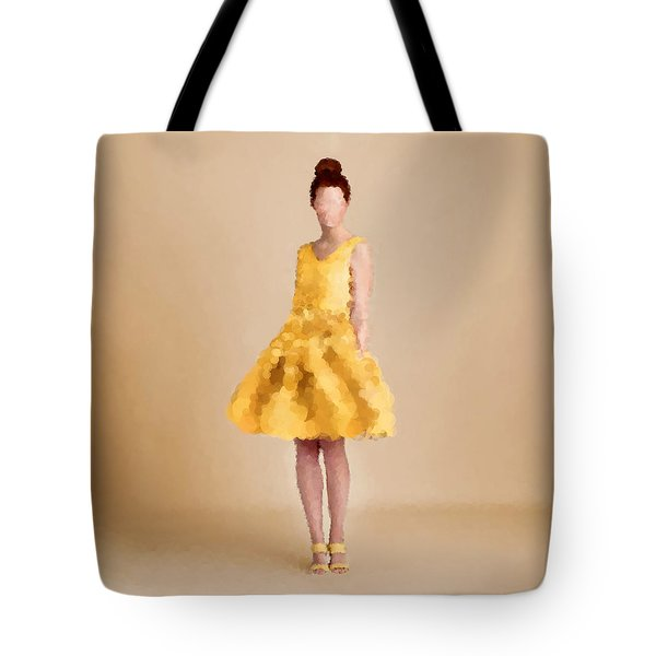 Tote Bag featuring the digital art Emma by Nancy Levan
