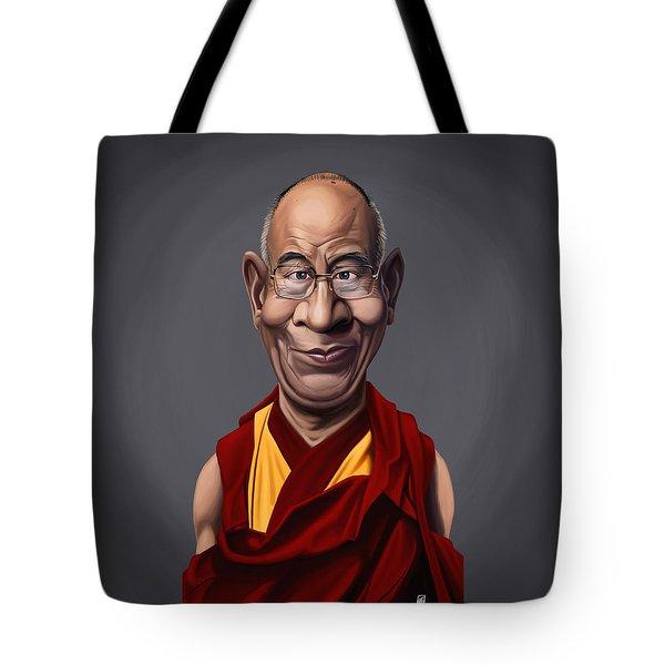 Celebrity Sunday - Dalai Lama Tote Bag