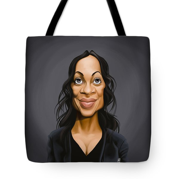 Celebrity Sunday - Rosario Dawson Tote Bag