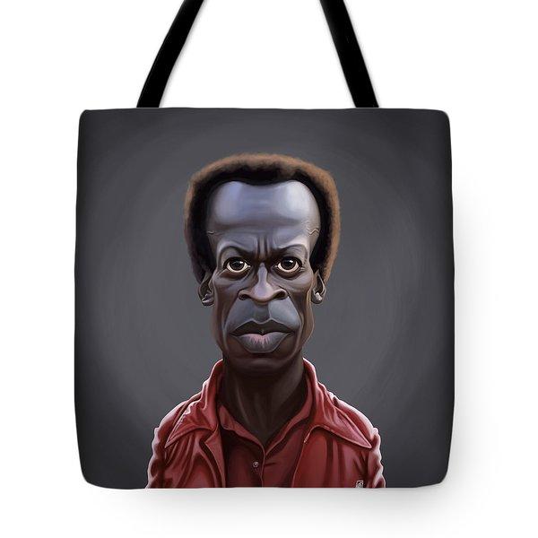 Celebrity Sunday - Miles Davies Tote Bag