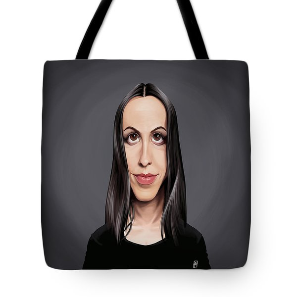 Celebrity Sunday - Alanis Morissette Tote Bag