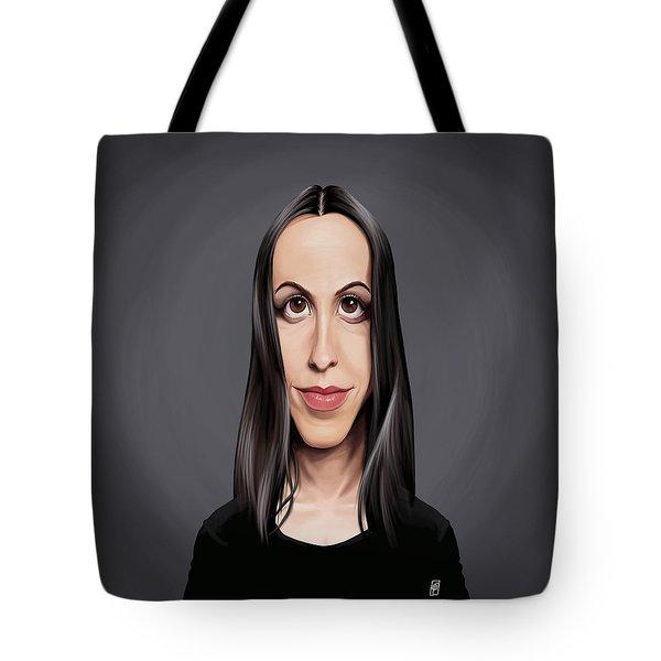 Celebrity Sunday - Alanis Morissette Tote Bag