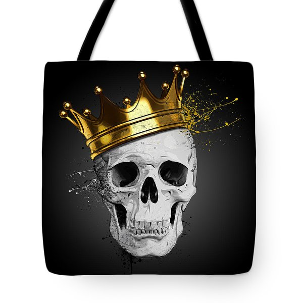 Royal Skull Tote Bag