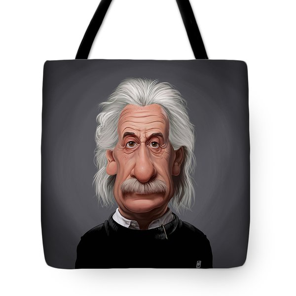 Celebrity Sunday - Albert Einstein Tote Bag