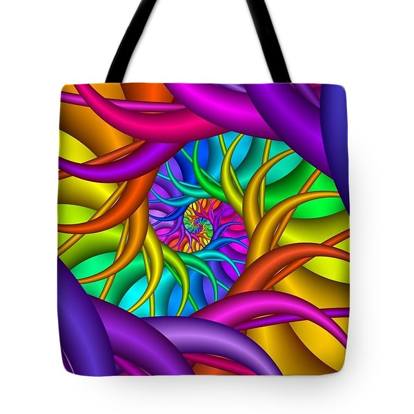 Multichrome  12 Tote Bag Tote Bag