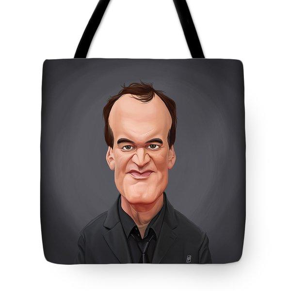 Celebrity Sunday - Quentin Tarantino Tote Bag