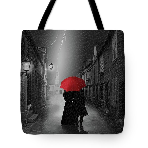 Together Forever Tote Bag by Monika Juengling