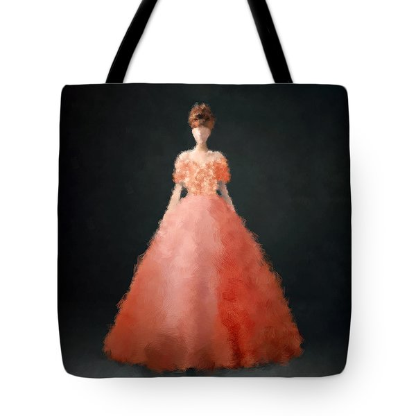 Tote Bag featuring the digital art Melody by Nancy Levan