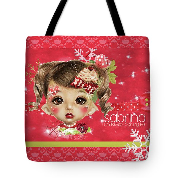Sabrina - Elf  Tote Bag by Sheena Pike